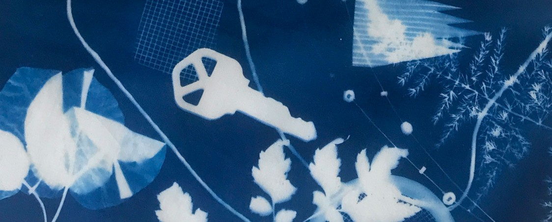 Exploring the Cyanotype Process: Blue & White Cameraless Photography (NEW!)