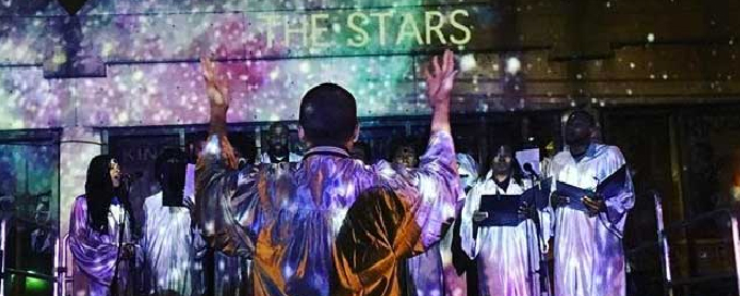 Malik Gaines and Alexandro Segade's Star Choir