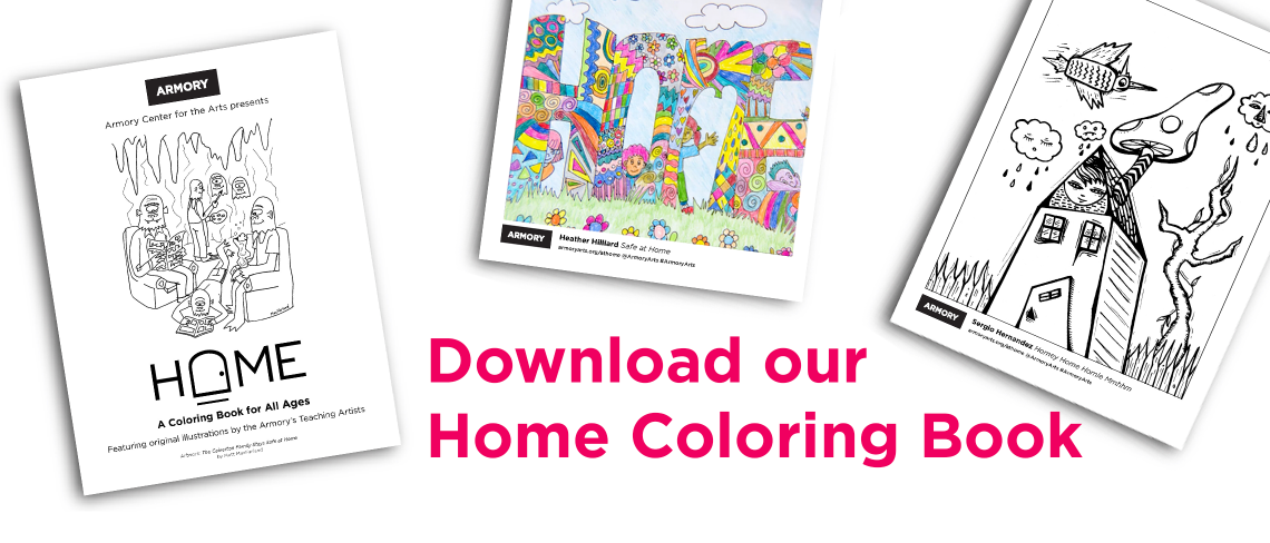 Download our Home Coloring Book