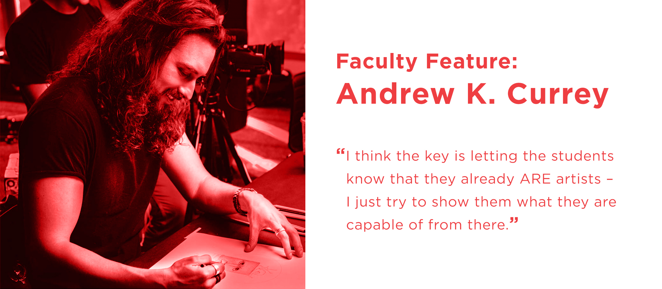 Faculty Feature: Andrew K. Currey
